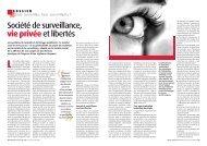 Société de surveillance, vie privée et libertés - Ligue des droits de l ...