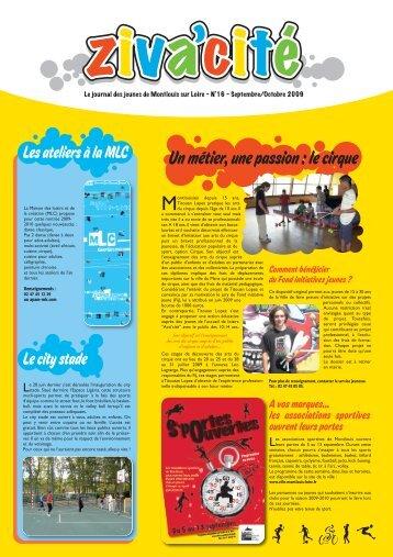 Zivacite n°17 septembre octobre 2009 - Montlouis-sur-Loire
