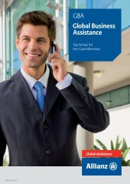 GBA Global Business Assistance - Allianz Global Assistance ...