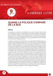 n° 13 - juin 2013 - Ligue des droits de l'Homme