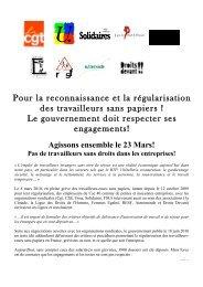 le tract - Ligue des droits de l'Homme