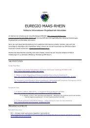 EMR News 2013 4 DE - Stichting Euregio Maas Rhein
