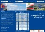 euregiobahn - Stichting Euregio Maas Rhein
