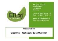 ETLog Health GmbH