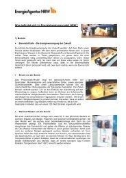 Was befindet sich im Energieberatungsmobil NRW?