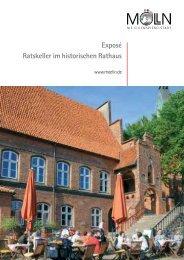 Exposé Ratskeller im historischen Rathaus - Stadt Mölln