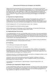 Satzung über die Erhebung einer Kurabgabe in der Stadt Mölln ...