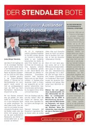 Der Stendaler Bote - MUPINFO.de