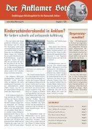 Der Anklamer Bote - MUPINFO.de