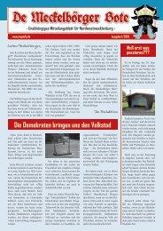 Der Meckelbörger Bote #1 - MUPINFO.de