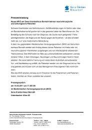 Musterfirma - Sana Krankenhaus Gerresheim