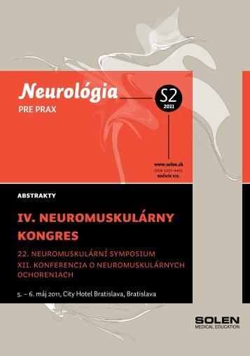 IV. Neuromuskulárny kongres - snmo.sk