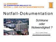 Notfalldokumentation - Austrian Resuscitation Council