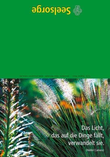 Seelsorge - Evangelische Krankenhausseelsorge Bayern