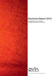 Rassismus Report 2010 - Zara
