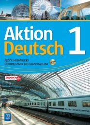 Aktion Deutsch. Klasa 1