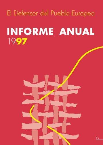 INFORME ANUAL 1997 - EOI
