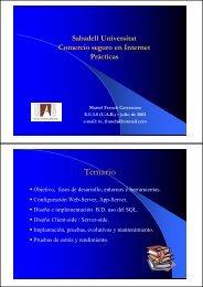 Objetivo, fases de desarrollo, entornos y herramientas ...