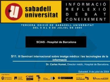 Historias clínicas - Sabadell Universitat