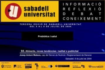 L. casei - Sabadell Universitat