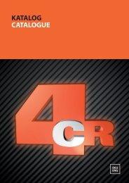 Doppelseitigen Katalog herunterladen (10,7 MB) - 4CR.com