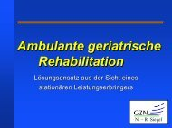 Ambulante geriatrische Rehabilitation - MDK Bayern