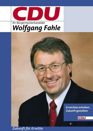 Wolfgang Fahle