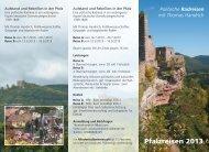 Pfalzreisen 2013 - Christiane Schmidt