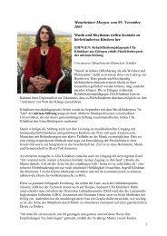 Druckversion dieser Seite (pdf-Dokument 46KB) - Miriam-Stiftung