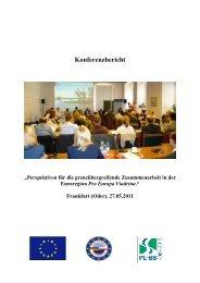 Konferenzbericht - Viadrina