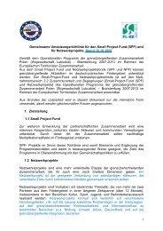 Umsetzungsrichtlinie für SPF - Viadrina