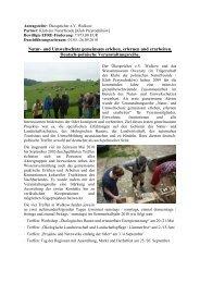 Natur- und Umweltschutz gemeinsam erleben, erlernen ... - Viadrina
