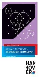 My Daily Experiences - Musik 21 Niedersachsen