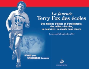 Terry Fox des écoles - Terry Fox Foundation