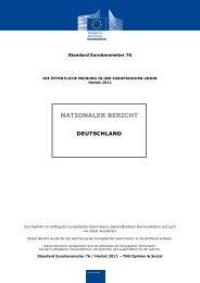 nationaler Bericht für Deutschland - Europa