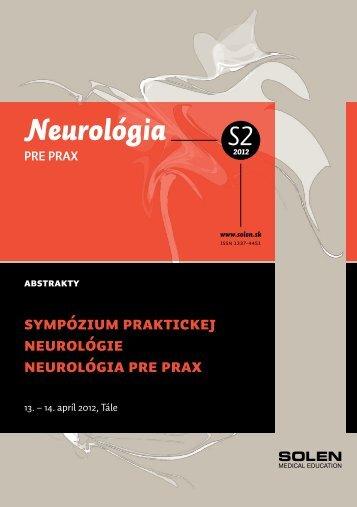 Neurológia PRE PRAX - snmo.sk