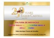 FDC - CRI Minas - Cultura de Inovação - 26_05_11 - Faber-Castell