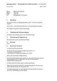 Protokoll des ordentlichen Kreistags vom 08.05.07 ... - München-West