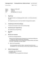 Protokoll zum ordentlichen Kreistag der Jugend ... - München-West