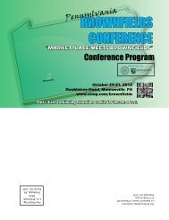 Pennsylvania BROWNFIELDS CONFERENCE - ESWP