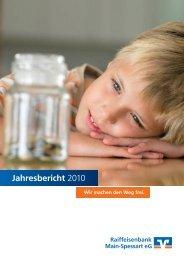 Jahresbericht 2010 - Raiba-msp.de