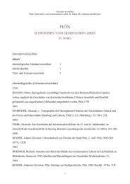 SCHWESTERN VOM GEMEINSAMEN LEBEN Literaturverzeichnis ...