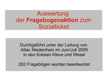 sind die Ergebnisse! - attac Niederrhein