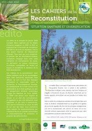 Situation sanitaire et diversification - Le Centre Régional de ...