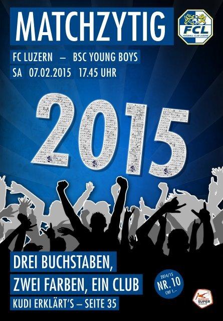 FC LUZERN Matchzytig N°10 14/15 (RSL 19)