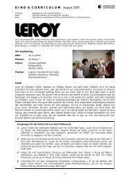 Leroy - Institut für Kino und Filmkultur