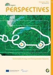 Sustainable Energy and Transportation Systems - EcoRegion