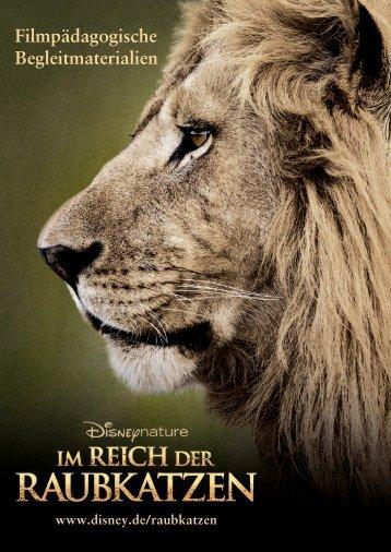 """Begleitmaterial """"Im Reich der Raubkatzen"""""""