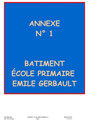 ÉCOLE ÉLÉMENTAIRE JACQUES PRÉVERT - Montlouis-sur-Loire