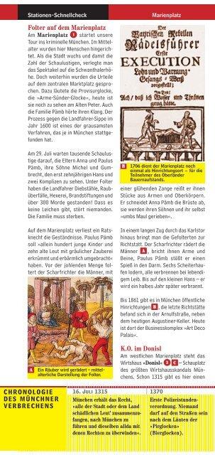 München-Mini: Kriminelles München